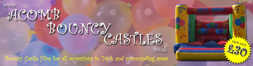 Bouncy Castle Hire York – Acomb Bouncy Castles – York, UK